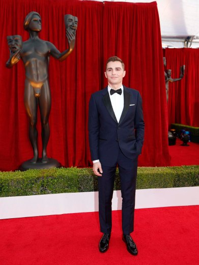 24th Screen Actors Guild Awards – Arrivals – Los Angeles, California, U.S., 21/01/2018 – Dave Franco. REUTERS/Mike Blake