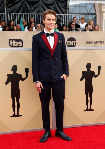 24th Screen Actors Guild Awards – Arrivals – Los Angeles, California, U.S., 21/01/2018 – Actor Logan Shroyer. REUTERS/Monica Almeida