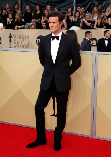 24th Screen Actors Guild Awards – Arrivals – Los Angeles, California, U.S., 21/01/2018 – Actor Matt Smith. REUTERS/Monica Almeida